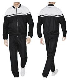 tuta sportiva da uomo con zip intera tuta sportiva bianca a buon mercato uomo felpa e pantalone tuta con cappuccio e pantalone tuta da uomo da hoodie a buon mercato per gli uomini fornitori