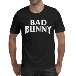 print graphic designer Promo Codes - 2019 final champions Bad Bunny Art blackmens t shirt,shirts,t shirts,tee shirts printing funny graphic designer crazy custom athletic t shi