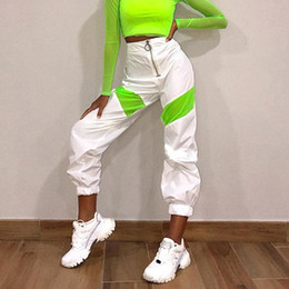 vestiti da ballerini di hip hop Sconti Jazz Dance Pants donne Hip Hop Rave Outfit discoteca del DJ Ds Pole Dance Stage di usura del locale notturno Pantaloni Gogo Dancers Abbigliamento DC3138