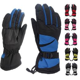 Зимние мужчины женщины лыжные перчатки на открытом воздухе мальчики девочки сноуборд перчатки водонепроницаемые мотоциклы теплые восхождение походные перчатки от