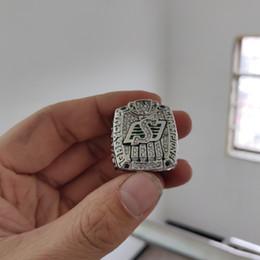 2019 anillos grises de la taza 2019 venta al por mayor 2013 Saskatchewan Roughriders The 101st Grey Cup Championship Ring TideHoliday regalos para amigos anillos grises de la taza baratos
