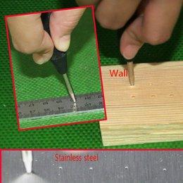 2019 pin de carga 5 Centro de Automática pulgadas Pin sacador por resorte Marcado agujeros Inicio de Herramienta para madera Prensas herramienta de elaboración de la madera marcador Dent Broca rebajas pin de carga