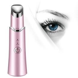 vibrierende heizmassagegerät Rabatt Bellylady beheizte Sonic Wrinkle Beauty Instrument Augenringe Tränensäcke Mini Electric Vibrating Eye Massager T190712