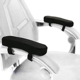 Sandalye Kol Dayama Pedleri Yumuşak Bellek Köpük Dirsek Yastık Desteği Dirsek ve Kolları için Çoğu Sandalyeler Için Fit Basınç Tahliye (2 Set) cheap chair foam nereden sandalye köpüğü tedarikçiler