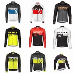 2019 Racing Cycling Jersey Team SCOTT Bicycle Sports Clothes long sleeve  Ropa Ciclismo MTB Bike quick dry Men Cycling Clothing K012922 4520fec2b