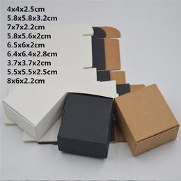 2019 крафт-картон 10pcs / серия Малый Крафт-бумага упаковочная коробка, крафт-картон мыло ручной работы коробка конфет, персонализированный ремесло бумага коробка подарка для свадьбы скидка крафт-картон