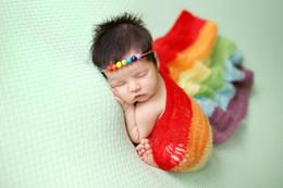 Adereços tapete on-line-Recém-nascidos Fotografia Adereços Acessórios Bebê Fotografia Cobertor 40x150 cm Tecidos Quadrados Tapete Do Bebê Adereços Foto Cobertores Almofada