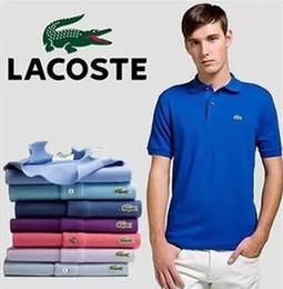 2019 neue designhemd-halsbänder New Men Shirts Business Kurzarm Umlegekragen Baumwolle Herrenhemd Slim Fit Beliebte Designs N837 Polo-Shirt günstig neue designhemd-halsbänder