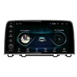 Bluetooth crv on-line-GPS do carro Android com multimídia player multi-touch screen excelente câmera frontal bluetooth para Honda elysion CRV 2018-2019 9 POLEGADA