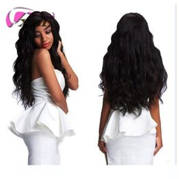 Melhor cabelo ondulado molhado on-line-Best 9A Brazilian Hair Human hair Bundles With Closure Water Wave 3 Bundles With Closure Wet And Wavy Human Hair Extensions Wholesale