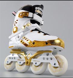 botas universitarias Rebajas Los estudiantes universitarios patines en línea Adultos Hombres Mujeres patines Fantasía zapatos planos de rodillos Zapatos Botas Sneaker profesionales