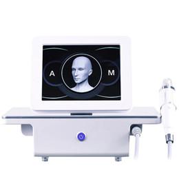 mym micro aiguille thérapie Promotion Fractionnel RF Microneedle Soins du visage d'or Micro aiguille peau Rollar des cicatrices d'acné stretch enlèvement Mark traitement professionnel Salon de beauté machine
