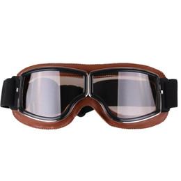 Occhiali di protezione del motociclo del motociclo dell'annata di stile retro di modo per gli accessori di sport all'aperto da
