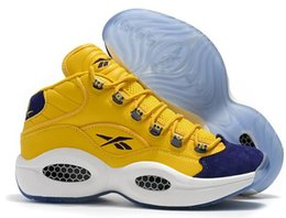 Scarpe firmate di vendita calda Allen Iverson Question Mid Q1 Scarpe casual Risposta 1s Zoom mens Stivali Scarpe da ginnastica di lusso Elite Sport Sneakers da