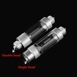 válvula de retenção Desconto 1 Pc 2 Tipos de Metal Aquarium CO2 Bolha Contador VÁLVULA de VERIFICAÇÃO-Airline Bomba de Ar / CO2 Difusor de Válvula de Regulamentação DIFUSOR DIFUSOR