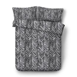 текстильная молния Скидка Домашний текстиль Алмазный пододеяльник Набор из 2 подушек Shams Полосатая коллекция постельных принадлежностей с застежкой-молнией