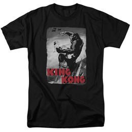 Camiseta de aviões on-line-King Kong Planes Cartaz T-Shirt Tamanhos S-3X NOVA Das Mulheres Dos Homens Unisex Moda tshirt Frete Grátis