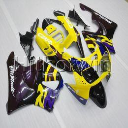 inyección de carenado zx14 Rebajas 23 colores + Tornillos de la cubierta de la motocicleta amarilla para HONDA CBR900RR 1994 1995 1996 1997 CBR893RR ABS Carenado del motor de plástico