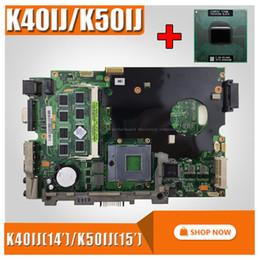 2019 scheda madre b75 con scheda madre 2Gb RAM + cpu per ASUS K40IJ K50IJ K60IJ X5DIJ K40AD K50AD K40AF K50AF K40AB K50AB K40IN K50IN K40IP K50IP Laptop