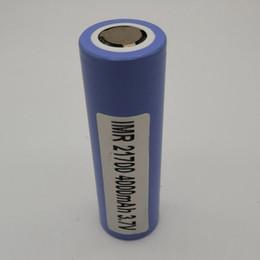 3.7v литий-ионный аккумулятор aa Скидка 100% Высочайшее качество Samsung 21700 Батарея 4000 мАч 3.7 В 40A 18650 Батареи Аккумуляторная Литиевая Батарея Fedex Бесплатная Доставка