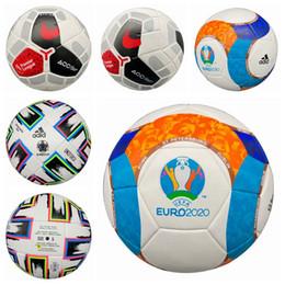 Tout nouveau fonctionnaire en Ligne-Coupe d'Europe20 nouvelle marque de haute qualité Un ballon de football standard PU Ballon de football Ballons de formation de football taille officielle 5 et la taille 4 bal