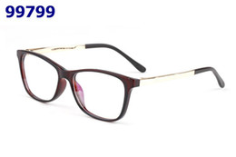 347561868 New Men Women Casual Rimmed Eyewear Frames Non-Prescription Clear Lenses eyeglasses  Rectangular Designer Glasses Frame With Box