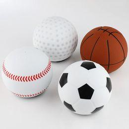 2020 bolas de golfe futebol 2019 populares altavoz bluetooth speaker portátil Estilo Esportes Basquete De Beisebol Bola De Golfe De Futebol Em Forma de Design inovador bocina mini novo desconto bolas de golfe futebol