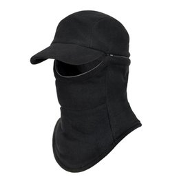 special forces hats Promo Codes - Winter Warm Fleece Hat Outdoor Windproof Cycling Ski Balaclava Hat Mask,CS Wargame Special Forces Field Operations Mask