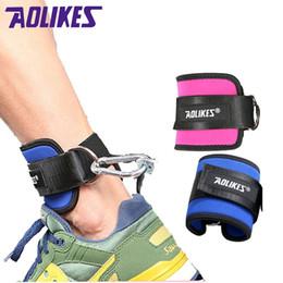 AOLIKES 1 UNIDS Fitness D-Ring Correas de Tobillo Ajustables Apoyo de Tobillo Protector de Pierna Gimnasio Pullery con Hebilla Guardia de Pies Deportivos # 17600 desde fabricantes