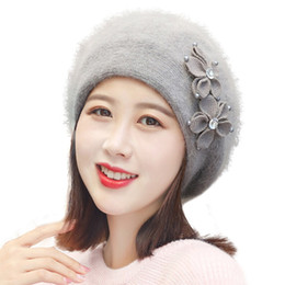 4669ae939f5 2019 High Quality Women Winter Warm Cap Knitted Hat Beret Baggy Beanie Hat  Slouch Ski Cap Hot Sale  4