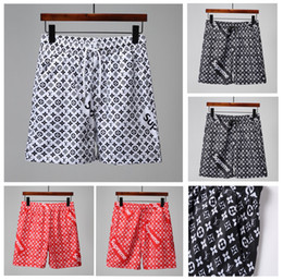 2019 nouveaux été designer hommes shorts monogrammés sports marque plage shorts taille élastique shorts mode vêtements pour hommes paquet chaud mail ? partir de fabricateur