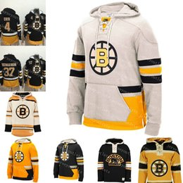 Mens Bruins de Boston Brad Marchand Customized Charlie McAvoy Charlie McAvoy Hoodie Zdeno Chara Hockey Hoodies Cousu Sweat S 3XL