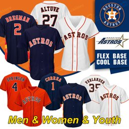 new products b2dc3 830f0 Wholesale Alex Bregman Jersey for Resale - Group Buy Cheap ...