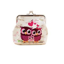 2019 garras de búho monedero Monederos para mujer porte monnaie femme Lady Retro Vintage Owl Leather Small Wallet Monedero Monedero Monedero Clutch Bag monnaie * .65 rebajas garras de búho