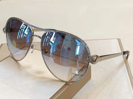 Pietre a specchio online-RC1011 Stones Gold Pilot Occhiali da sole Blue Mirror Glasses Sonnenbrille Luxury designer occhiali da sole occhiali Eyewear New with Box