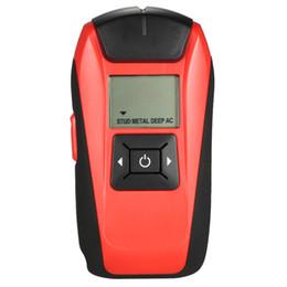 Detector de Parede profissional De Metal Magnético Localizador Do Parafuso Prisioneiro Do Sensor Multi-Funcional Handheld Lcd De Madeira Ac Cabo de Fio de Varredura Profunda de
