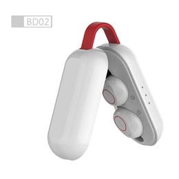 Bt phone bluetooth онлайн-TWS Беспроводная связь Bluetooth 5.0 Наушники-вкладыши Наушники-гарнитуры Наушники с зарядным устройством Микрофон Громкая связь для iOS Android Phone BT-193 BT5.0