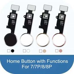 Evrensel Ev Düğmesi Apple iPhone 7 Için 8 Artı Ev Fonksiyonu Döndürmek için Çözüm Flex Kablolar Şerit Değiştirme nereden