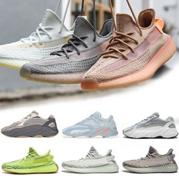 big sale a12b4 8ce2b Adidas Yeezy boost 350 V2 Clay True Form Hyperspace Real boost 350 Clay V2  True Form Hyperspace Uomo Donna Scarpe da corsa Static Burro di sesamo  Kanye West ...