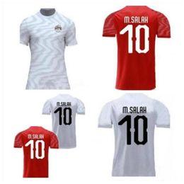 Ägyptenhemden online-2019 2020 Ägypten-Fußballjerseys 10 M. SALAH 6 A. Hegazi 17 M.ELNENY Kahraba RAMADAN Custom Home Auswärts 19 20 Fußball-Hemd