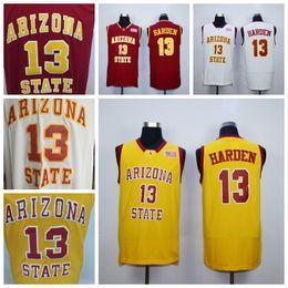 8b6d260e6add Mens Arizona State Sun Devils James Harden College Basketball Jerseys Cheap  Mens James Harden White Red  13 Stitched Shirts S-XXL. Supplier   redtradesport