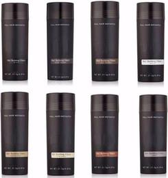 Fibras de construção Do Cabelo Natural da marca 27.5g cabelo cheio instantaneamente Emagrecimento Perda de Cabelo corretivo 9 cores disponíveis DHL Livre de