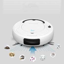 robot di vuoto Sconti Aspirapolvere robot per ufficio a casa Ricaricabile Auto Spazzatura Sporco Polvere Smart Mop Angoli per pavimenti Detergente Spazzatrice Lavaggio