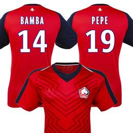 750895183 2018 2019 Lille soccer jerseys 18 19 LILLE OSC PEPE football shirt BAMBA  Camiseta de futbol LEAO ARAUJO maillot de foot