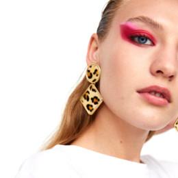Canada Vodeshanliwen ZA Nouveau Design Cristal Grand Boucles D'oreilles Pour Les Femmes 2018 À La Mode Bohême Déclaration Géométrique Boucles D'oreilles Offre