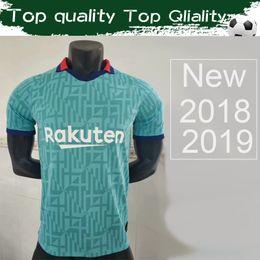 Camisas personalizadas dos esportes on-line-2020 # 10 MESSI # 17 GRIEZMANN 3rd Soccer Jersey 19/20 Third Football Shirt # 21 F.DE JONG Sports Jersey Uniformes personalizados Vendas