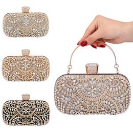 bolsa de porcelana Desconto Mulheres Flor de cristal de embreagem para o partido casamento Rhinestone Evening Bag O66