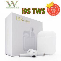 Nuevos auriculares inalámbricos Bluetooth I9S TWS portátiles 5.0 Auriculares Bluetooth Auricular invisible para todos los teléfonos inteligentes para teléfonos celulares PK i7s i8 desde fabricantes