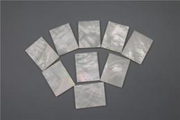 1pc de haute qualité Inlay Matériel Blanc mère de Shell Blanks Épaisseur de 2mm ? partir de fabricateur