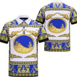 2019 polo verde morado Envío gratis 2019 TPolo camiseta hombre Polo camisa High Street hombres Polo tamaño asiático 3XL